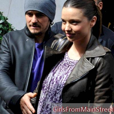 We envy them: The couples of the fighters of the extreme (Miranda Kerr / Orlando Bloom)