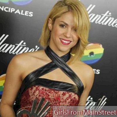 Shakira: jeho nový účes, platný nebo ne?