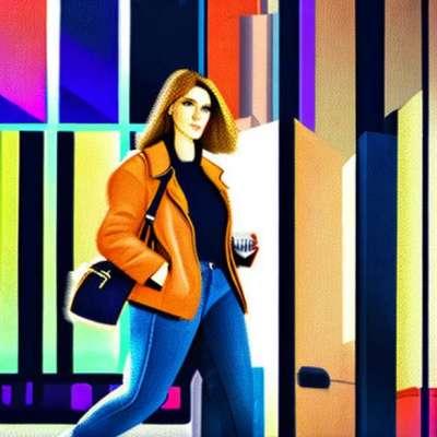 Lea Michele, chic menyikat untuk menjalankan jalanan New York