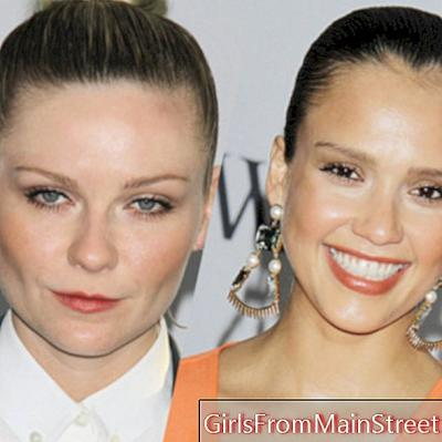 Jessica Alba εναντίον Kirsten Dunst: ποιος φοράει το καλύτερο κουλούρι;