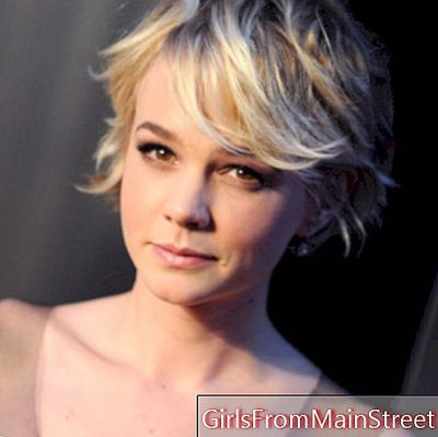 The hairstyle of the day: Carey Mulligan and her blond short haircut