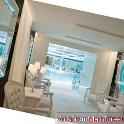 In the spas of the Grands Hôtels Parisiens: The My Blend Clarins Spa at the Royal Monceau