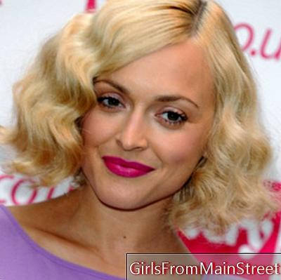Hairstyle of the day: Fearne Cotton and its retro bob cut