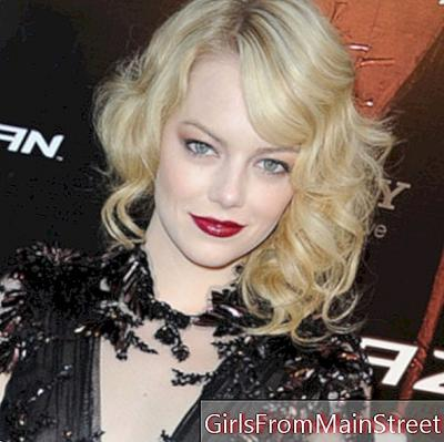 Emma Stone, poisonous at the premiere of Spider-Man in Paris