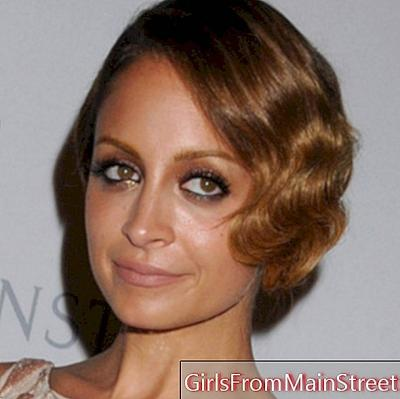 Nicole Richie, her 20's hairy hair at Baby2Baby Gala