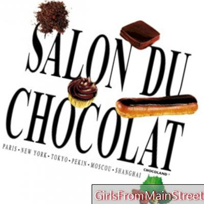 Thierry Mugler leidt een workshop tijdens de Salon du Chocolat