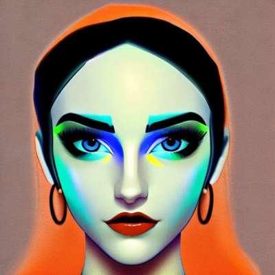 Eyes makeup: Jeg tager et blåt elektrisk look i 7 trin
