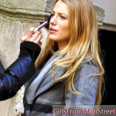 Glamour: Blake Lively retoucherende schoonheid voor Gossip Girl in New York