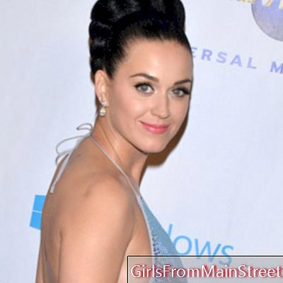 Lepotni videz dneva: Katy Perry barva lase v zeleni barvi