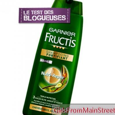 Fructis beauty test: our blogger Laurine tested shampoo for dry hair