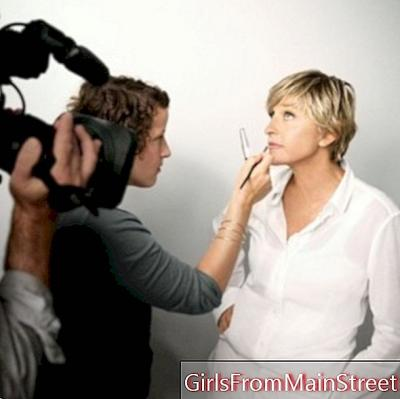 Ellen DeGeneres, new face of CoverGirl cosmetics