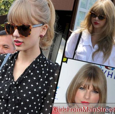 Taylor Swift, 22, micro-star and queen of the bangs