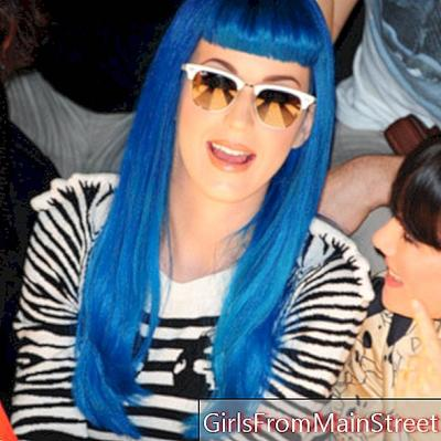 Zobacz Katy Perry i jej fryzurę na Paris Fashion Week!