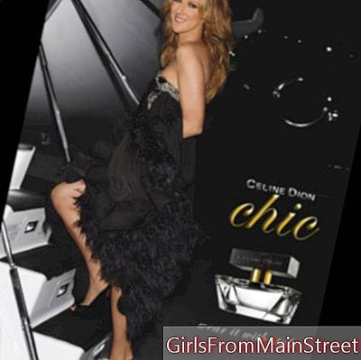 Celine Dion releases her seventh perfume, Chic