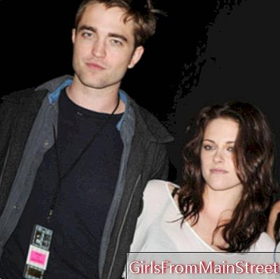 Robert Pattinson and Kristen Stewart: small changes in their beauty look