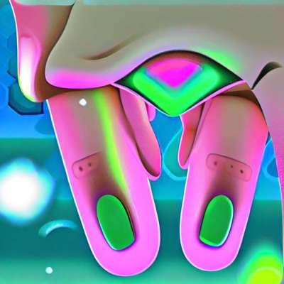 De sieraden manicure, de eenvoudige nail-art