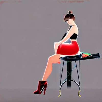 Es pārbaudīju franču kājas dieviešu kājām