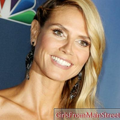 Beauty look of the day: Heidi Klum, perfect for America's Got Talent