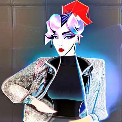 Účes dne: Lady GaGa a její tyrkysový čtvercový střih