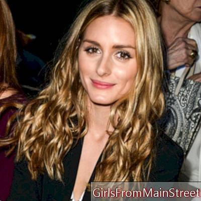 Look di bellezza del giorno: Olivia Palermo e le sue lucenti increspature a Parigi