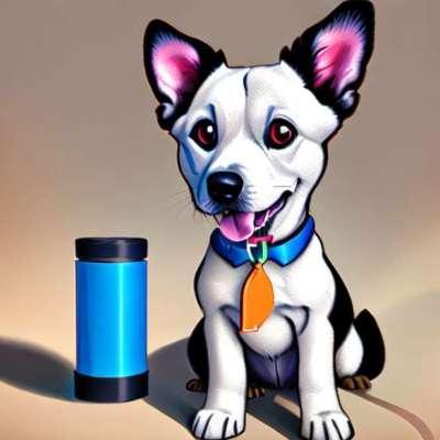 Unusual: chic dog nail polish