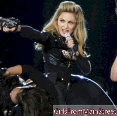 Madonna shows her hairy armpits on Instagram