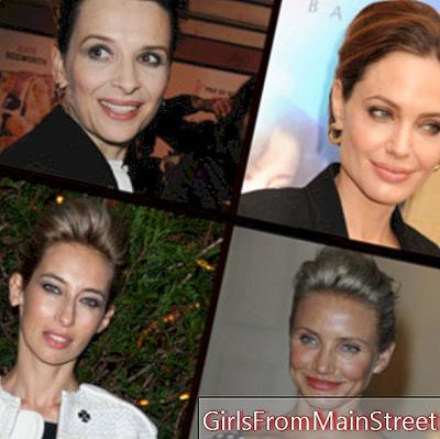 Juliette Binoche, Angelina Jolie ... All fans of the bun