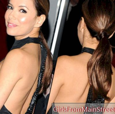 Eva Longoria sublimerer med sin frisure i Los Angeles