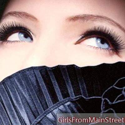 Beauty of eyelashes: coloring and permanent eyelashes