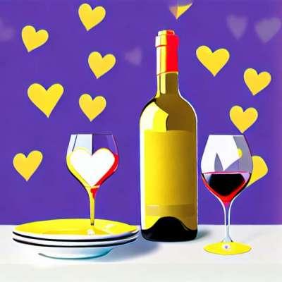 Valentine's Day menüü: šampanja, külmutatud südamed ja Macaroons