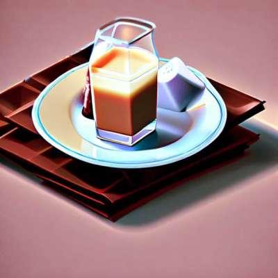 सफेद पनीर और इसकी चॉकलेट कुल्ली