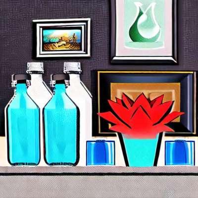 Air mineral, perbedaan nyata: aspek visual