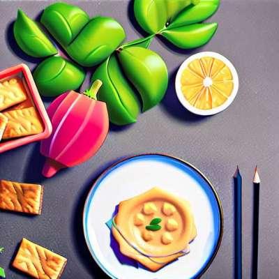 Bánh quế cá hồi kiểu phô mai