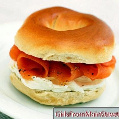 Burgers, bagels och wrap: gör din måltid på språng