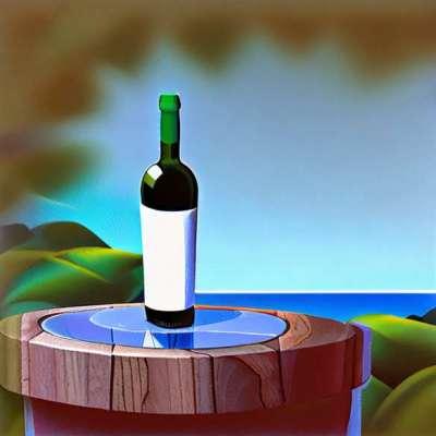 Med jordbær vin: en rød frukt dessert