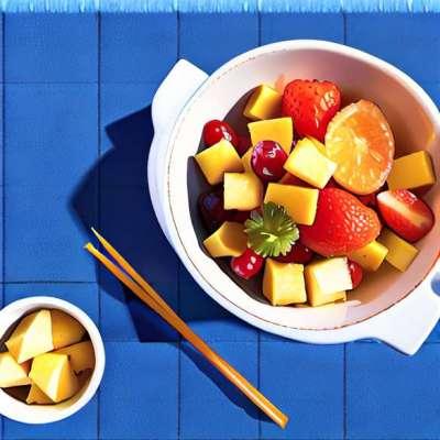 Opskrift: Tagliatelle af zucchini og havtaskefisk, chips af Beaufort