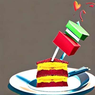 Mein Duo Cloud Heart: ein Schokoladenkuchenrezept