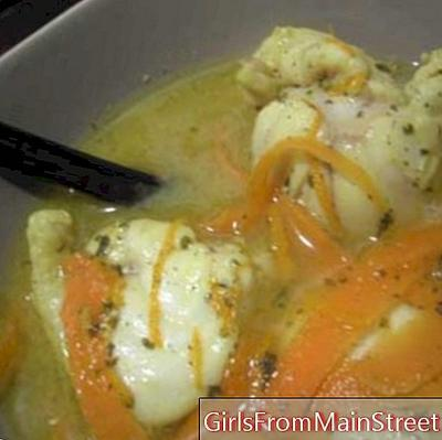 Valentine's Day recipe: Joelle's monkfish swim with vanilla