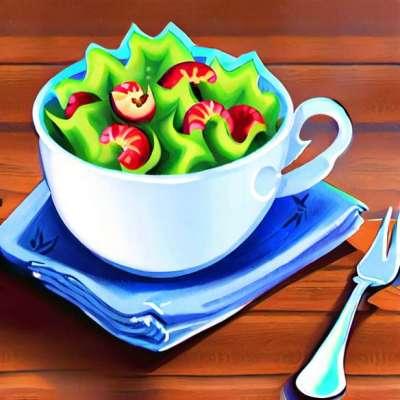 Készítsen egy könnyű salátát szezonális termékekkel