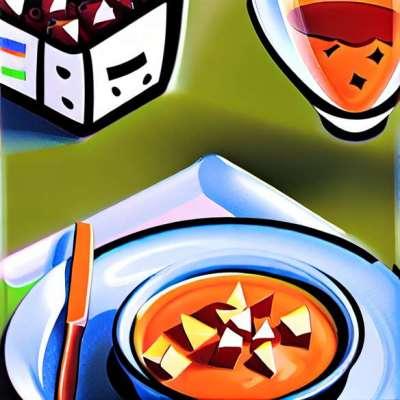 Кармин verrines със сьомга тартар и домати