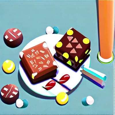 Easter chocolate: Easter eggs treasure