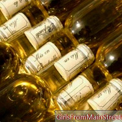 The bottling of Sauternes wines