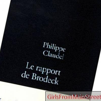 Philippe Claudel, báo cáo của Brodeck