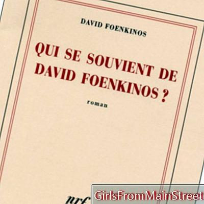 David Foenkinos järeltulijaid otsides