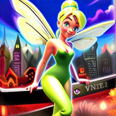 Lanzamiento en videojuego en Nintendo DS '' The Tinker Bell ''