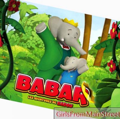 Babar and the adventures of Badou, the new series of TFOU for the little ones!
