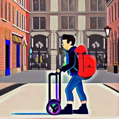 Børnepasning: Endelig en klapvogn nem at bære