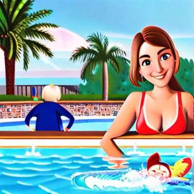 Baby svømmere: unikke fornemmelser!
