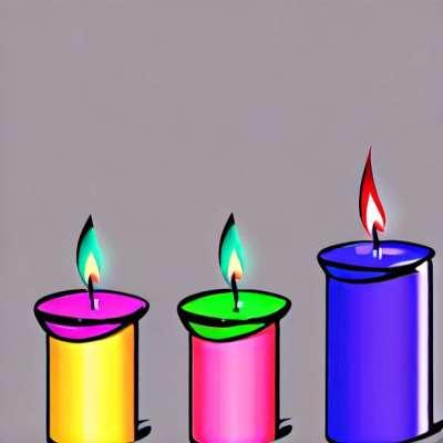 Романтична свећа