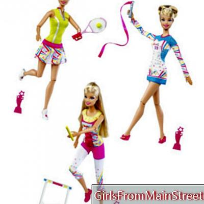 Barbie is invited to the London Olympics